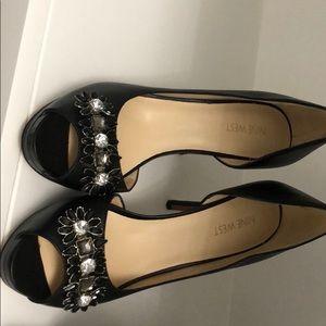 Brand new Nine West black heels
